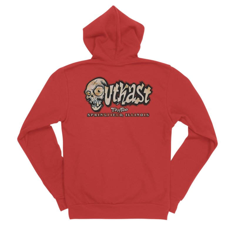 OG LOGO COLOR Women's Zip-Up Hoody by OutkastTattooCompany's Artist Shop