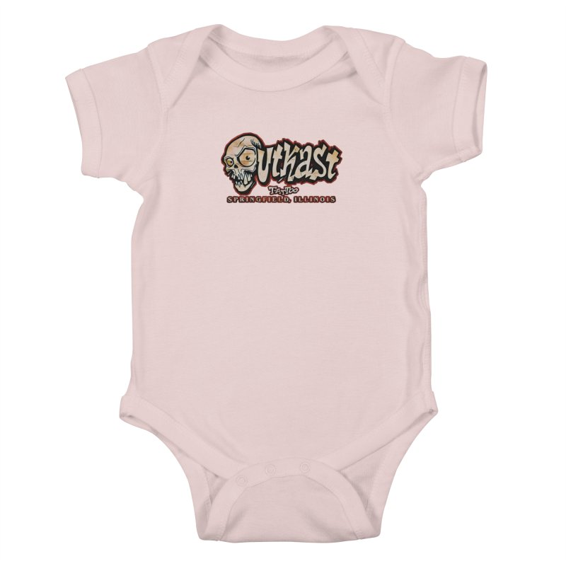 OG LOGO COLOR Kids Baby Bodysuit by OutkastTattooCompany's Artist Shop