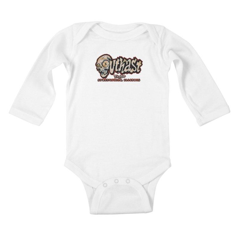 OG LOGO COLOR Kids Baby Longsleeve Bodysuit by OutkastTattooCompany's Artist Shop
