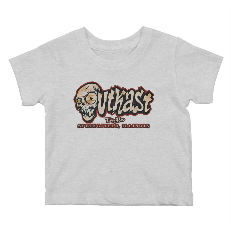 OG LOGO COLOR Kids Baby T-Shirt by OutkastTattooCompany's Artist Shop