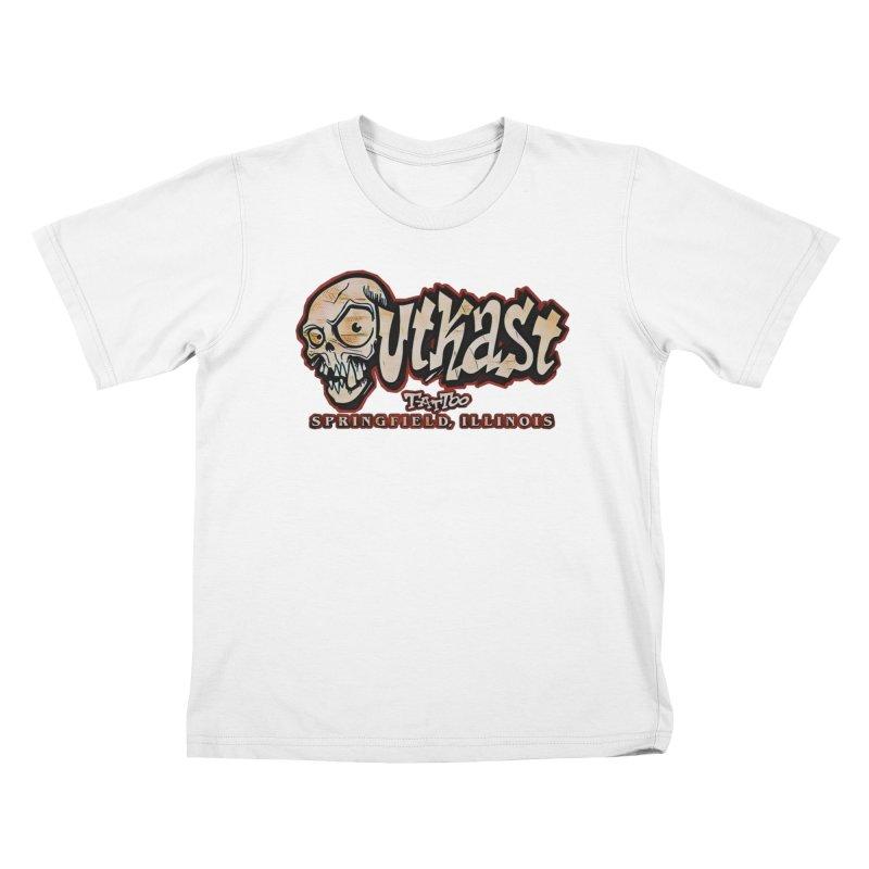 OG LOGO COLOR Kids T-Shirt by OutkastTattooCompany's Artist Shop