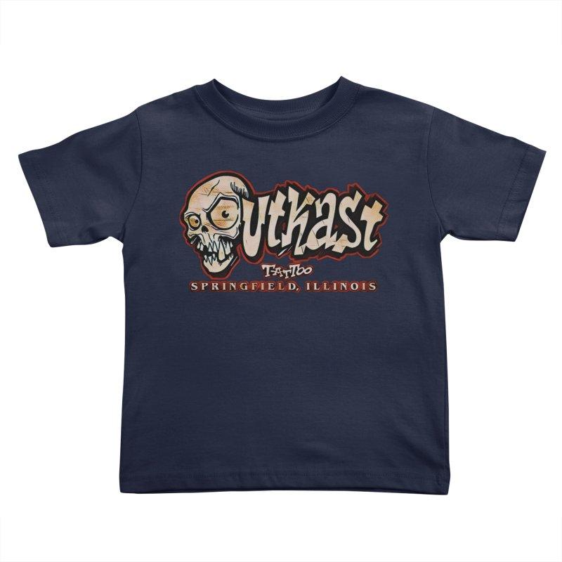 OG LOGO COLOR Kids Toddler T-Shirt by OutkastTattooCompany's Artist Shop