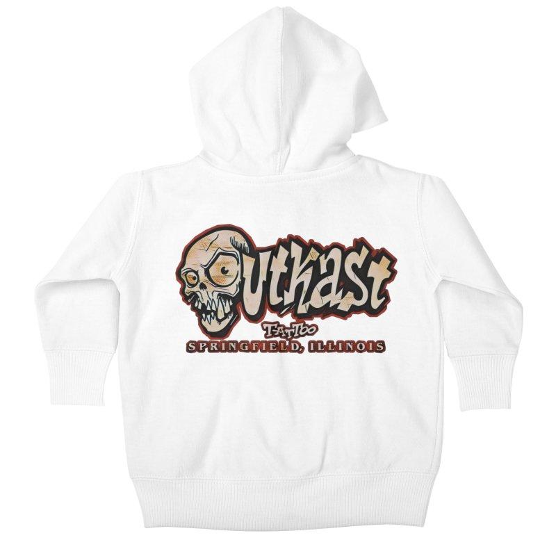 OG LOGO COLOR Kids Baby Zip-Up Hoody by OutkastTattooCompany's Artist Shop