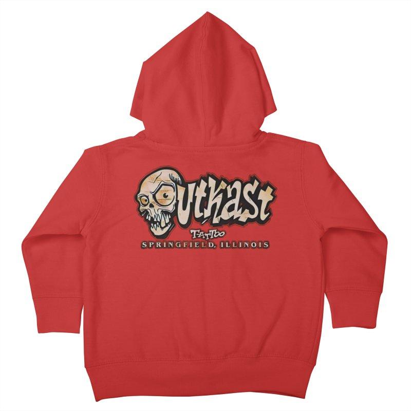 OG LOGO COLOR Kids Toddler Zip-Up Hoody by OutkastTattooCompany's Artist Shop