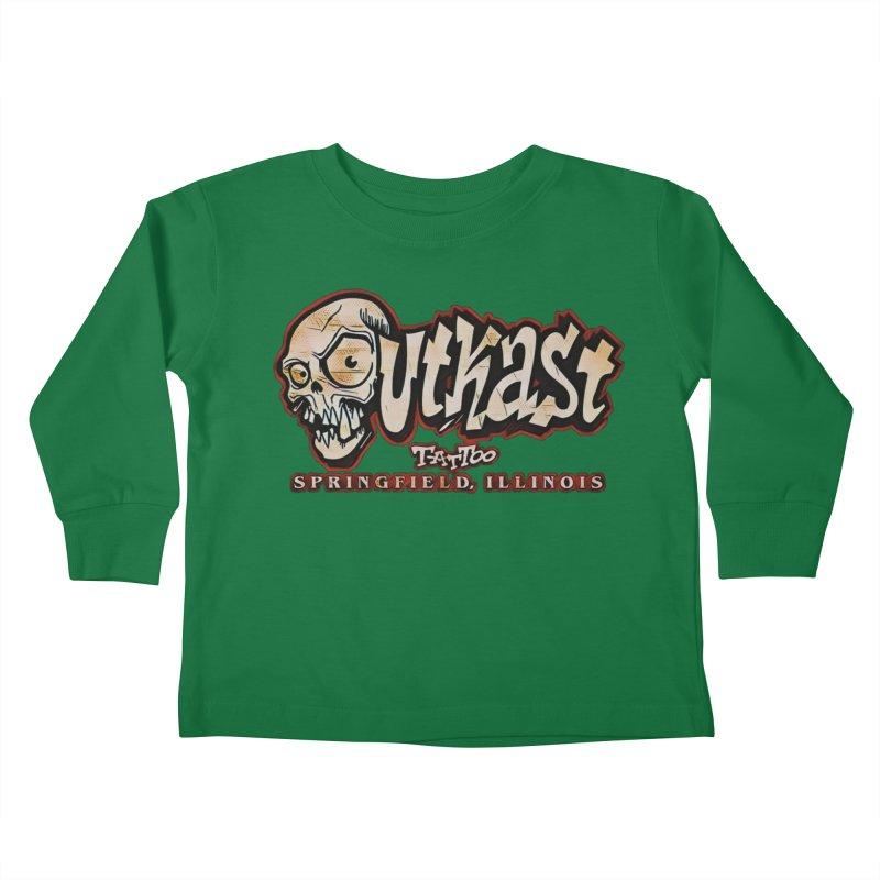 OG LOGO COLOR Kids Toddler Longsleeve T-Shirt by OutkastTattooCompany's Artist Shop