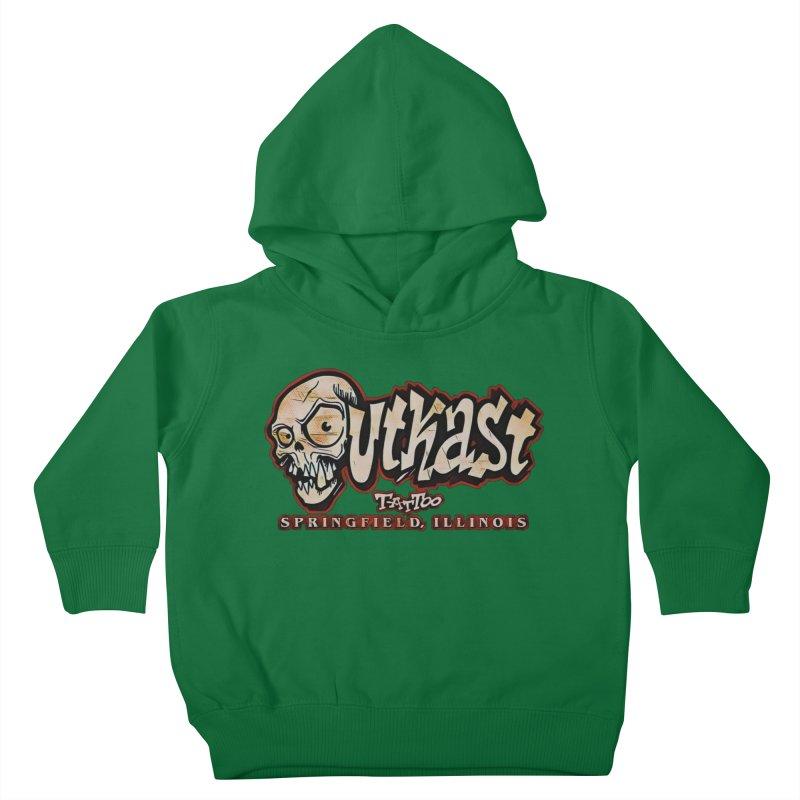 OG LOGO COLOR Kids Toddler Pullover Hoody by OutkastTattooCompany's Artist Shop
