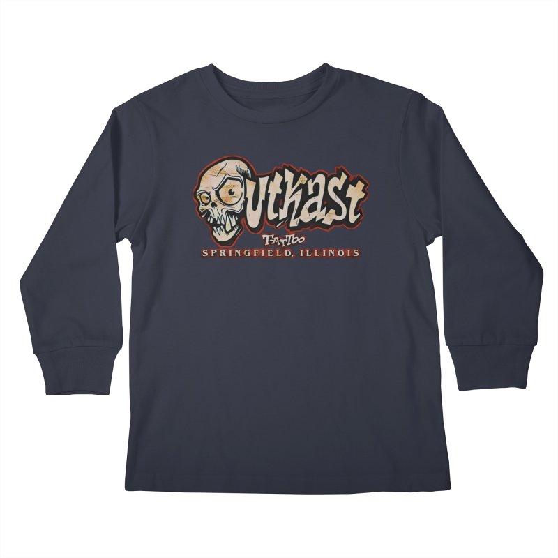 OG LOGO COLOR Kids Longsleeve T-Shirt by OutkastTattooCompany's Artist Shop