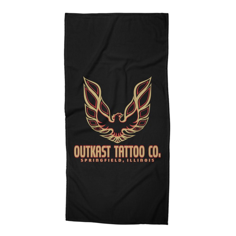 OUTKAST AM Accessories Beach Towel by OutkastTattooCompany's Artist Shop