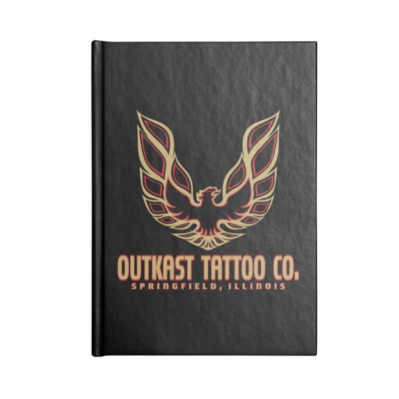 OUTKAST AM Accessories Notebook by OutkastTattooCompany's Artist Shop