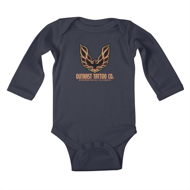 OUTKAST AM Kids Baby Longsleeve Bodysuit by OutkastTattooCompany's Artist Shop