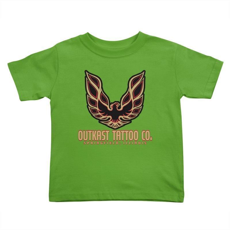 OUTKAST AM Kids Toddler T-Shirt by OutkastTattooCompany's Artist Shop
