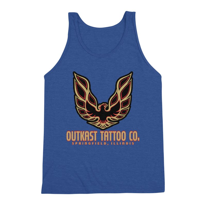 OUTKAST AM Men's Tank by OutkastTattooCompany's Artist Shop