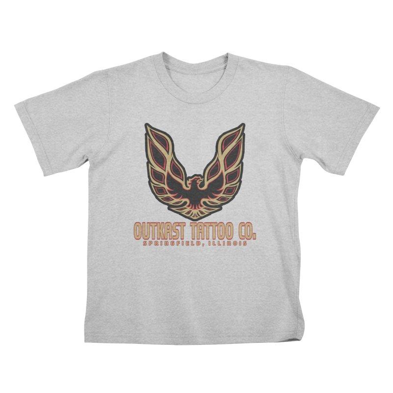 OUTKAST AM Kids T-Shirt by OutkastTattooCompany's Artist Shop