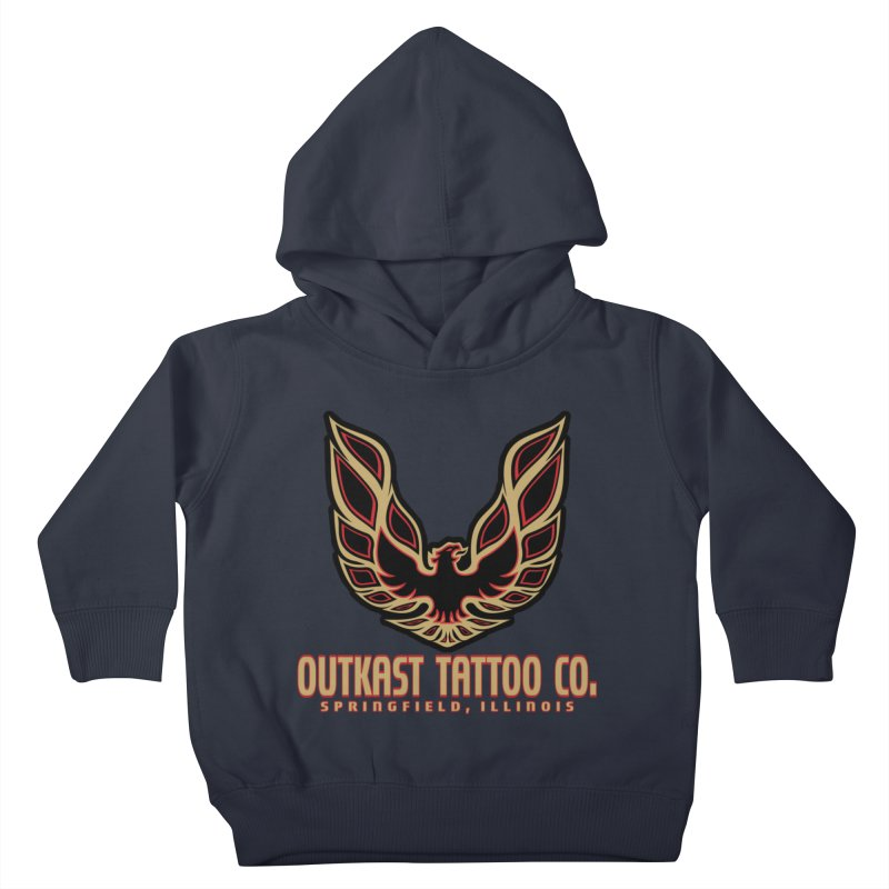 OUTKAST AM Kids Toddler Pullover Hoody by OutkastTattooCompany's Artist Shop