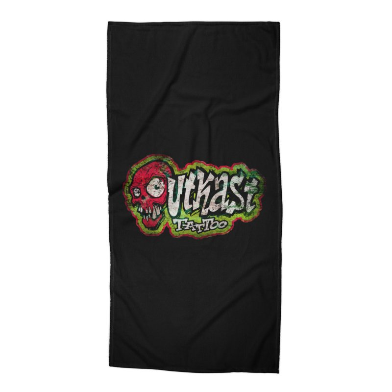 OUTKAST OG LOGO DISTRESSED COLOR Accessories Beach Towel by OutkastTattooCompany's Artist Shop