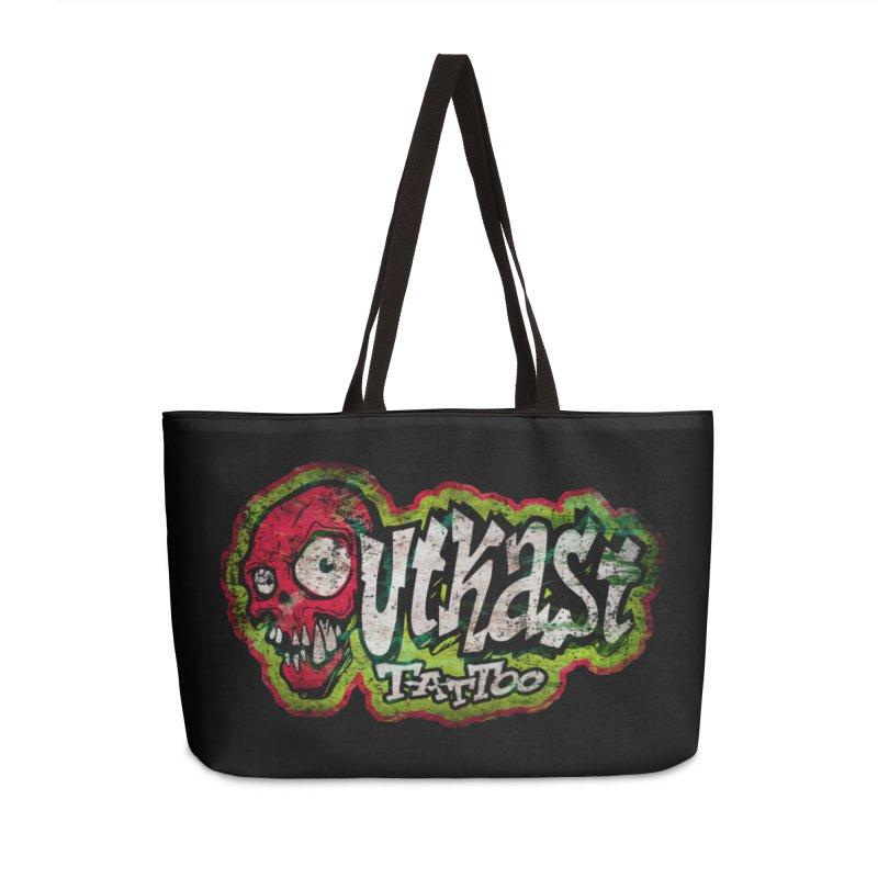OUTKAST OG LOGO DISTRESSED COLOR Accessories Bag by OutkastTattooCompany's Artist Shop