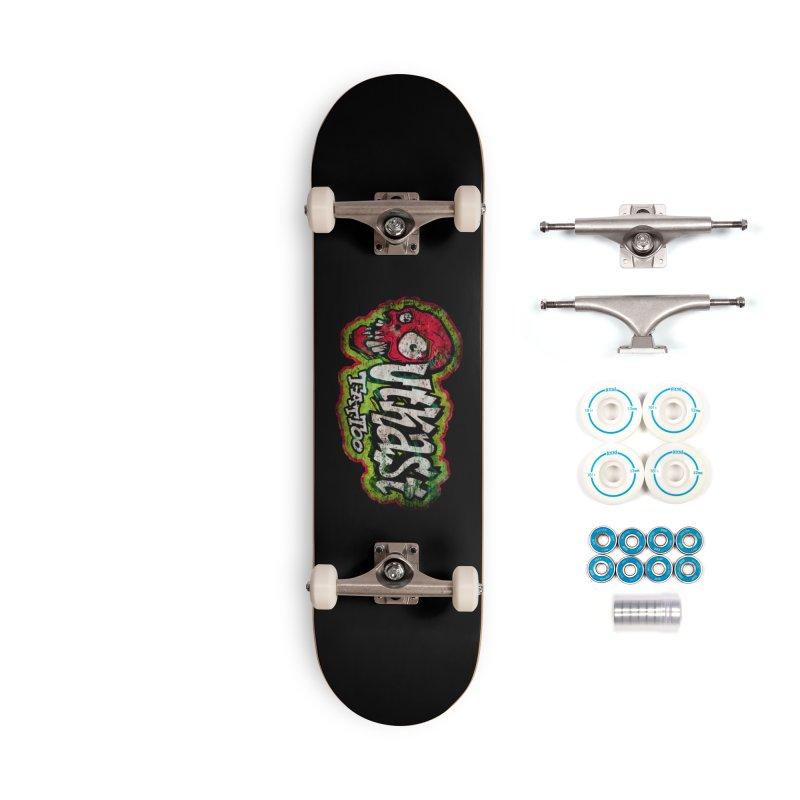 OUTKAST OG LOGO DISTRESSED COLOR Accessories Skateboard by OutkastTattooCompany's Artist Shop