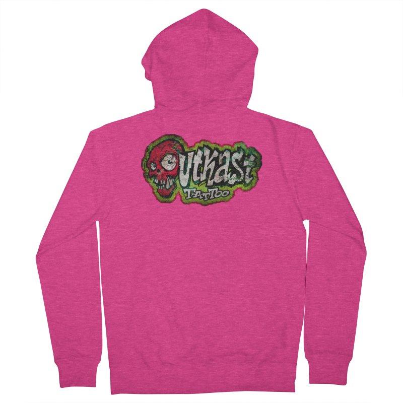 OUTKAST OG LOGO DISTRESSED COLOR Women's Zip-Up Hoody by OutkastTattooCompany's Artist Shop