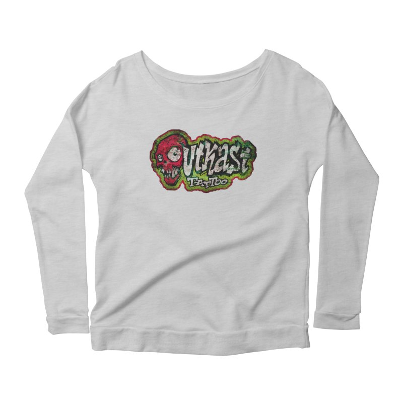 OUTKAST OG LOGO DISTRESSED COLOR Women's Longsleeve T-Shirt by OutkastTattooCompany's Artist Shop
