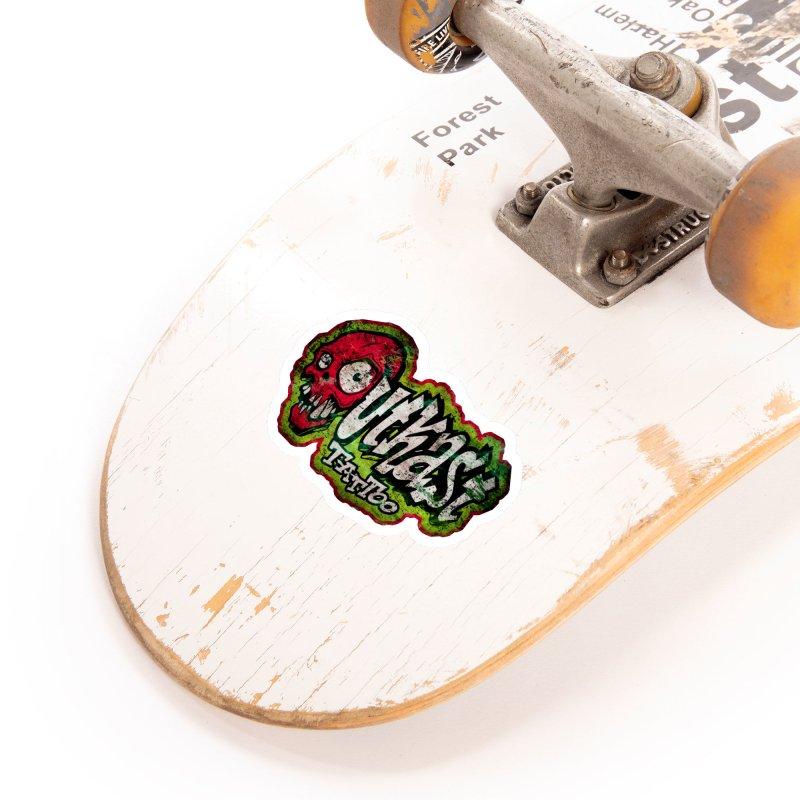 OUTKAST OG LOGO DISTRESSED COLOR Accessories Sticker by OutkastTattooCompany's Artist Shop