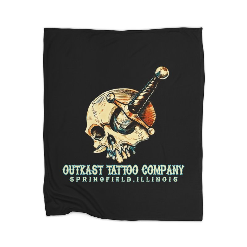 OUTKAST TATTOO COMPANY - EYE WILL STAB YOU Home Blanket by OutkastTattooCompany's Artist Shop
