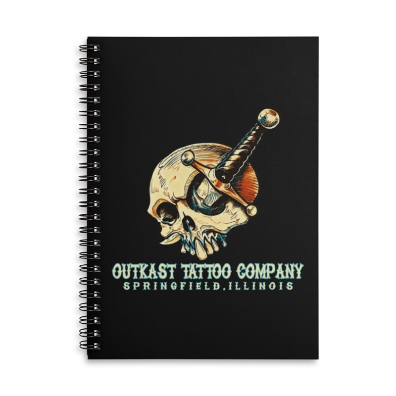 OUTKAST TATTOO COMPANY - EYE WILL STAB YOU Accessories Notebook by OutkastTattooCompany's Artist Shop