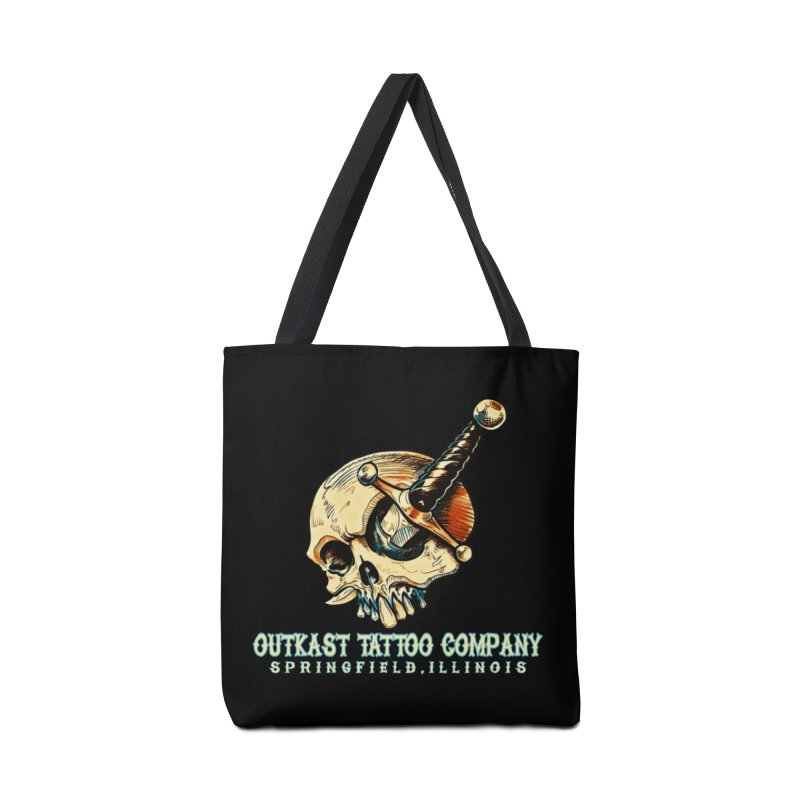 OUTKAST TATTOO COMPANY - EYE WILL STAB YOU Accessories Bag by OutkastTattooCompany's Artist Shop