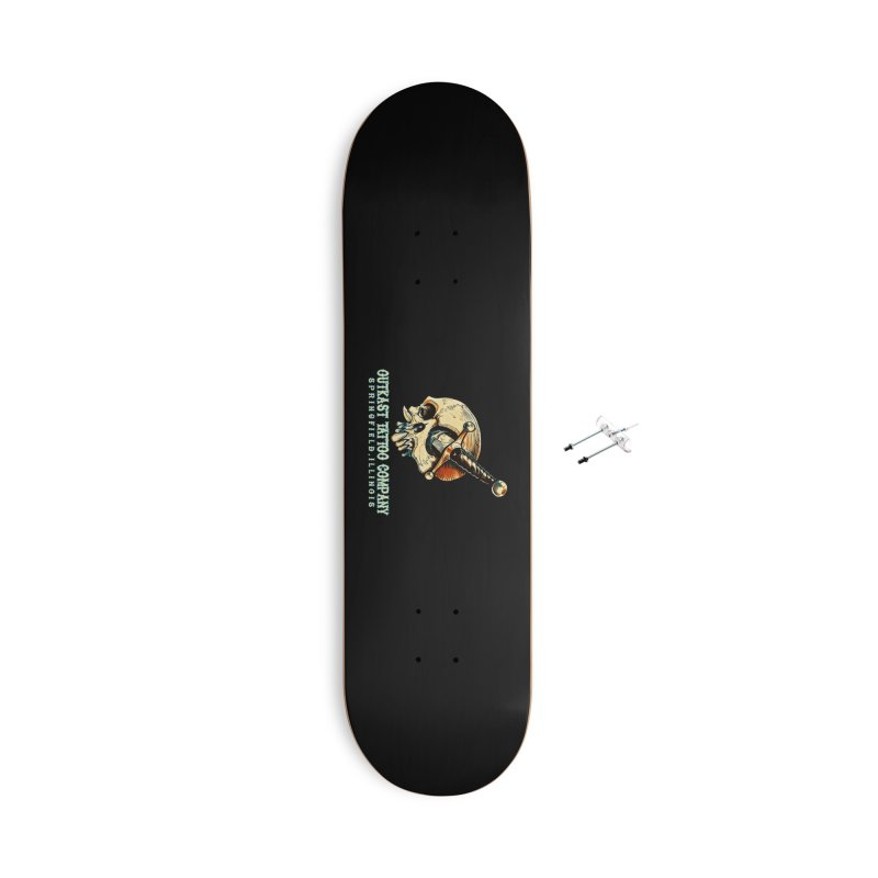 OUTKAST TATTOO COMPANY - EYE WILL STAB YOU Accessories Skateboard by OutkastTattooCompany's Artist Shop