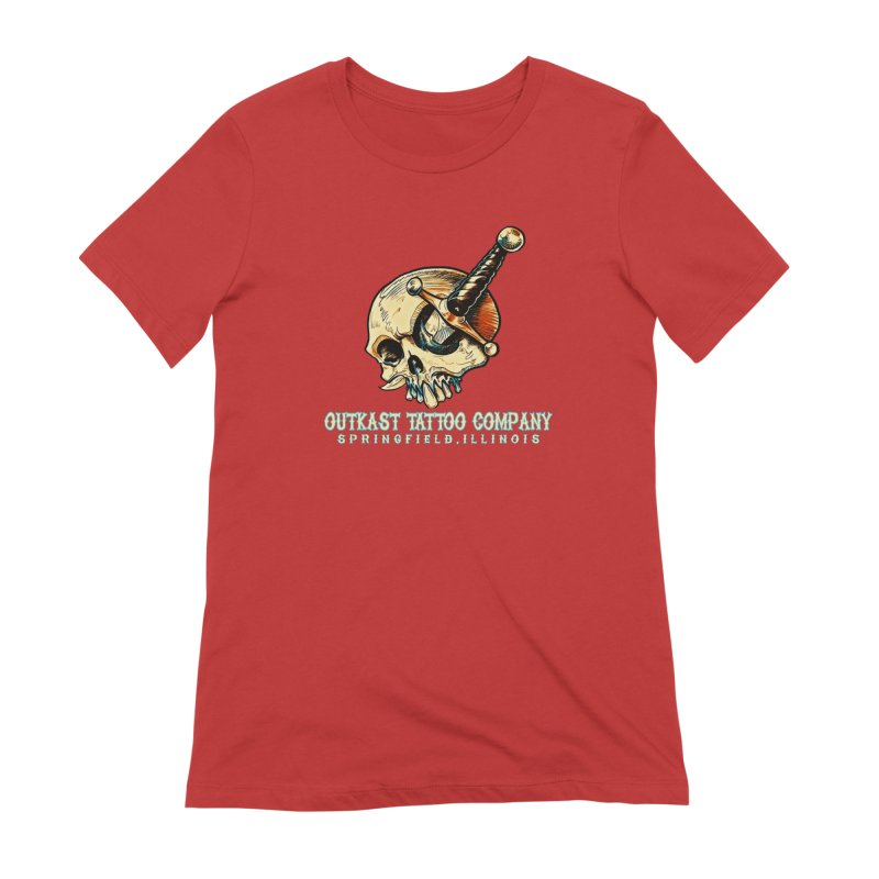 OUTKAST TATTOO COMPANY - EYE WILL STAB YOU Women's T-Shirt by OutkastTattooCompany's Artist Shop