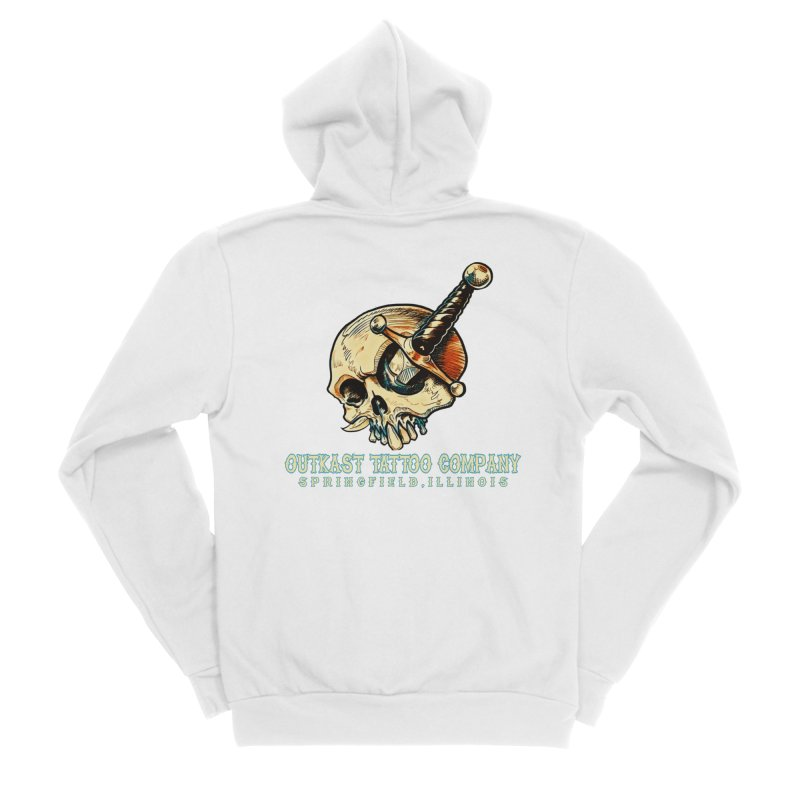 OUTKAST TATTOO COMPANY - EYE WILL STAB YOU Women's Zip-Up Hoody by OutkastTattooCompany's Artist Shop