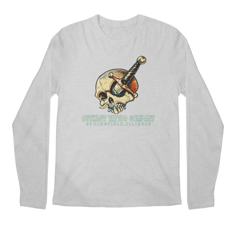 OUTKAST TATTOO COMPANY - EYE WILL STAB YOU Men's Longsleeve T-Shirt by OutkastTattooCompany's Artist Shop