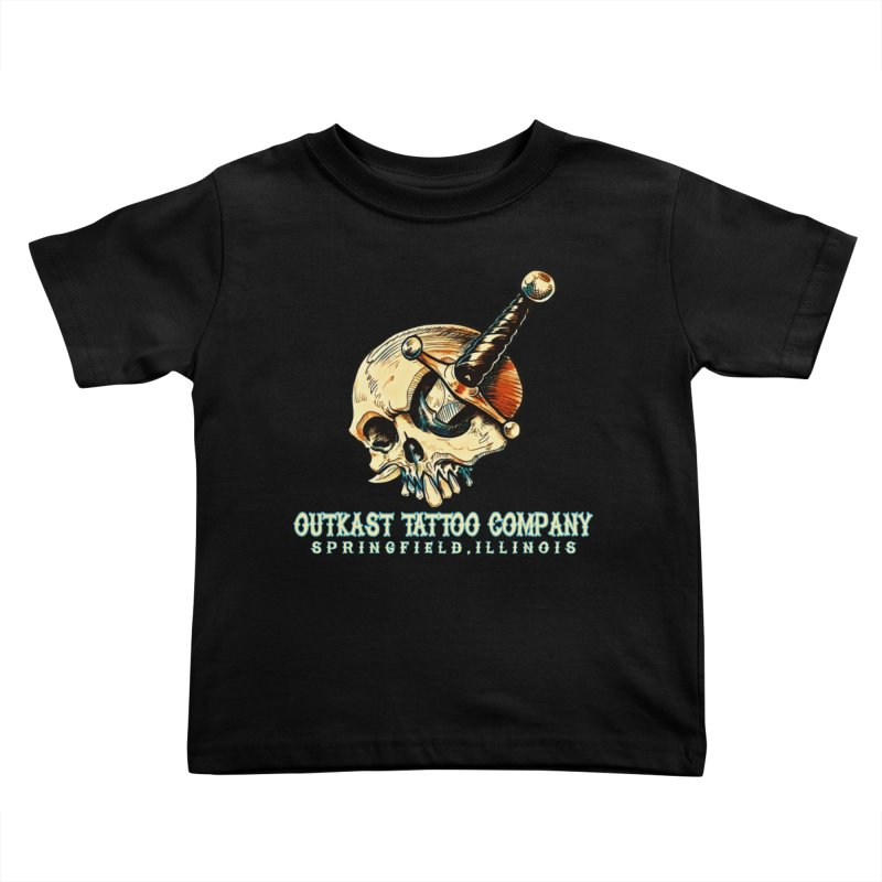 OUTKAST TATTOO COMPANY - EYE WILL STAB YOU Kids Toddler T-Shirt by OutkastTattooCompany's Artist Shop