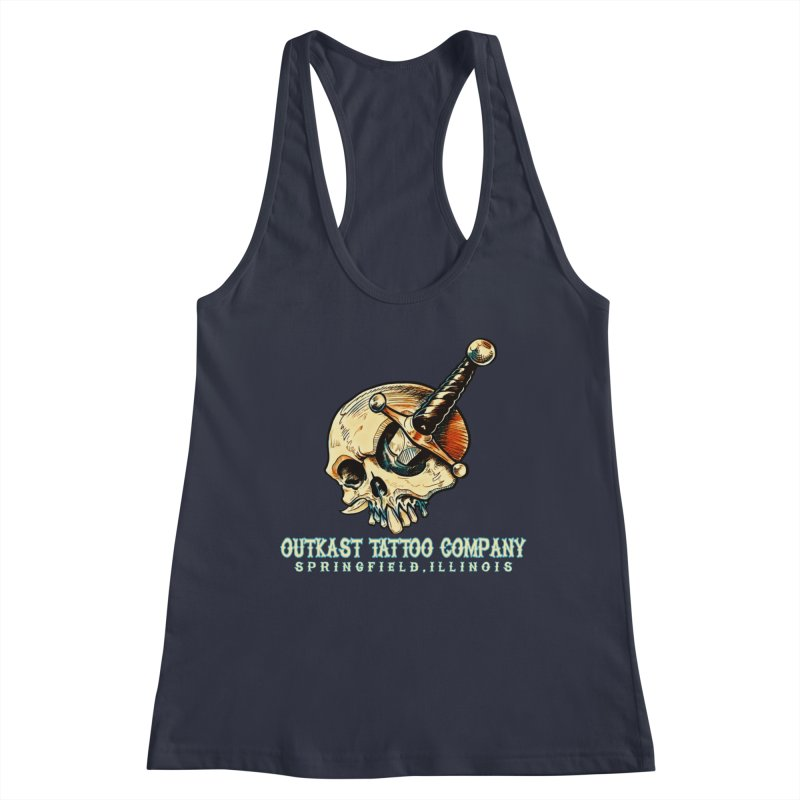 OUTKAST TATTOO COMPANY - EYE WILL STAB YOU Women's Tank by OutkastTattooCompany's Artist Shop