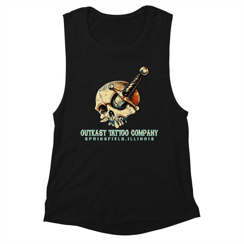 OUTKAST TATTOO COMPANY - EYE WILL STAB YOU Women's Tank by OutkastTattooCompany's Artist Shop