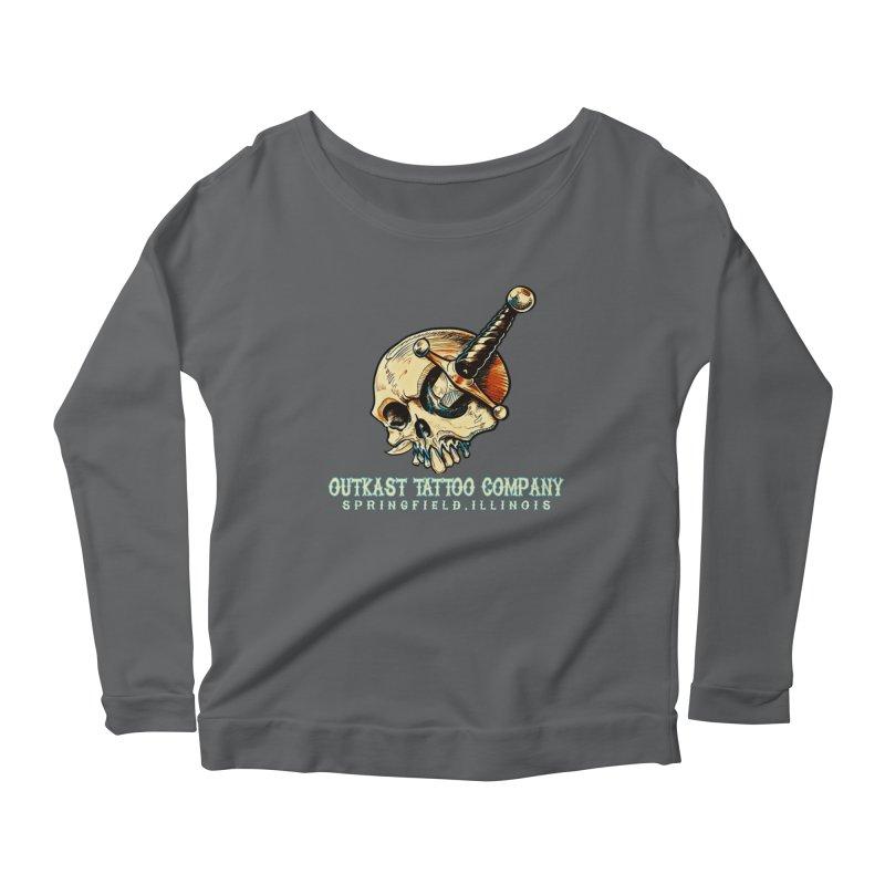 OUTKAST TATTOO COMPANY - EYE WILL STAB YOU Women's Longsleeve T-Shirt by OutkastTattooCompany's Artist Shop