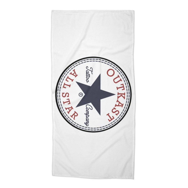Outkast Tuck Chaylor All Star Accessories Beach Towel by OutkastTattooCompany's Artist Shop