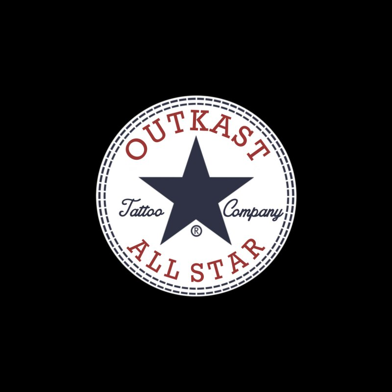 Outkast Tuck Chaylor All Star Accessories Sticker by OutkastTattooCompany's Artist Shop