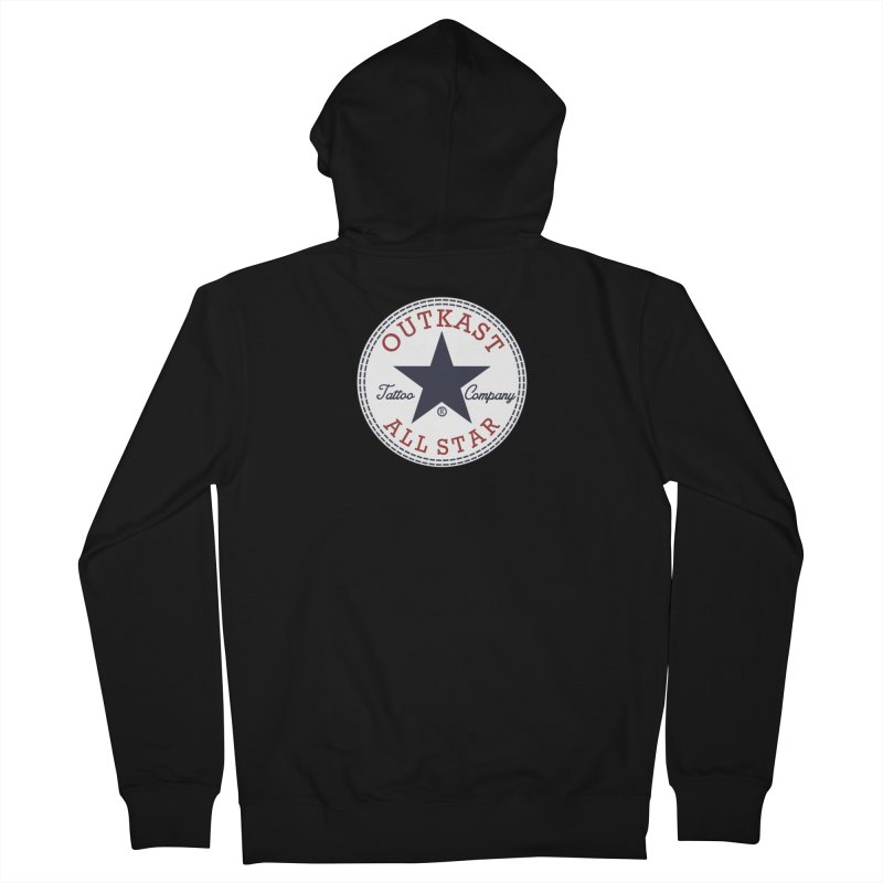 Outkast Tuck Chaylor All Star Women's Zip-Up Hoody by OutkastTattooCompany's Artist Shop
