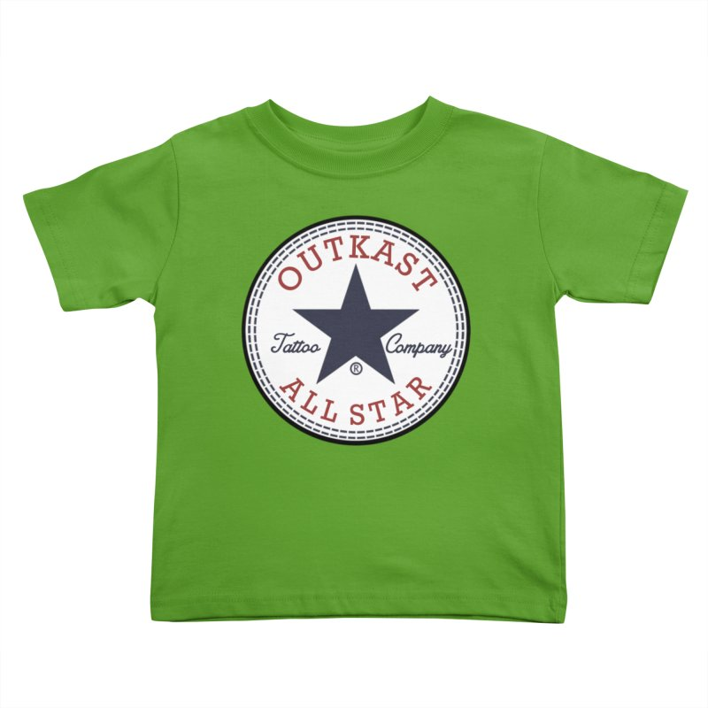 Outkast Tuck Chaylor All Star Kids Toddler T-Shirt by OutkastTattooCompany's Artist Shop