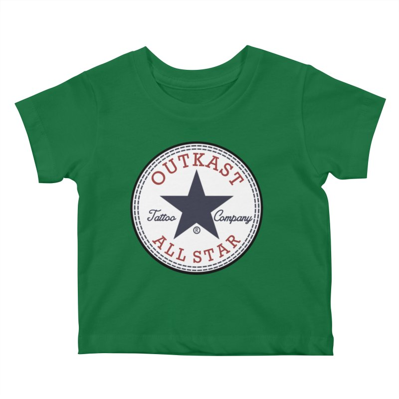 Outkast Tuck Chaylor All Star Kids Baby T-Shirt by OutkastTattooCompany's Artist Shop
