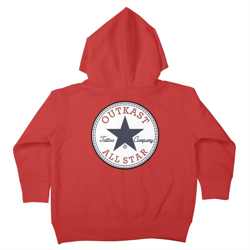 Outkast Tuck Chaylor All Star Kids Toddler Zip-Up Hoody by OutkastTattooCompany's Artist Shop