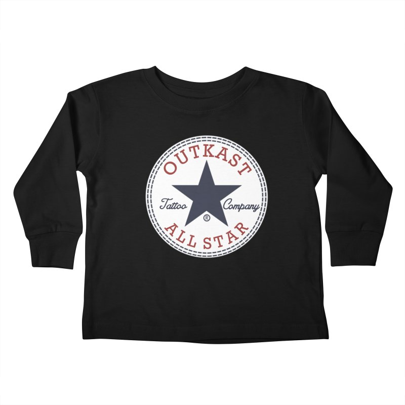 Outkast Tuck Chaylor All Star Kids Toddler Longsleeve T-Shirt by OutkastTattooCompany's Artist Shop