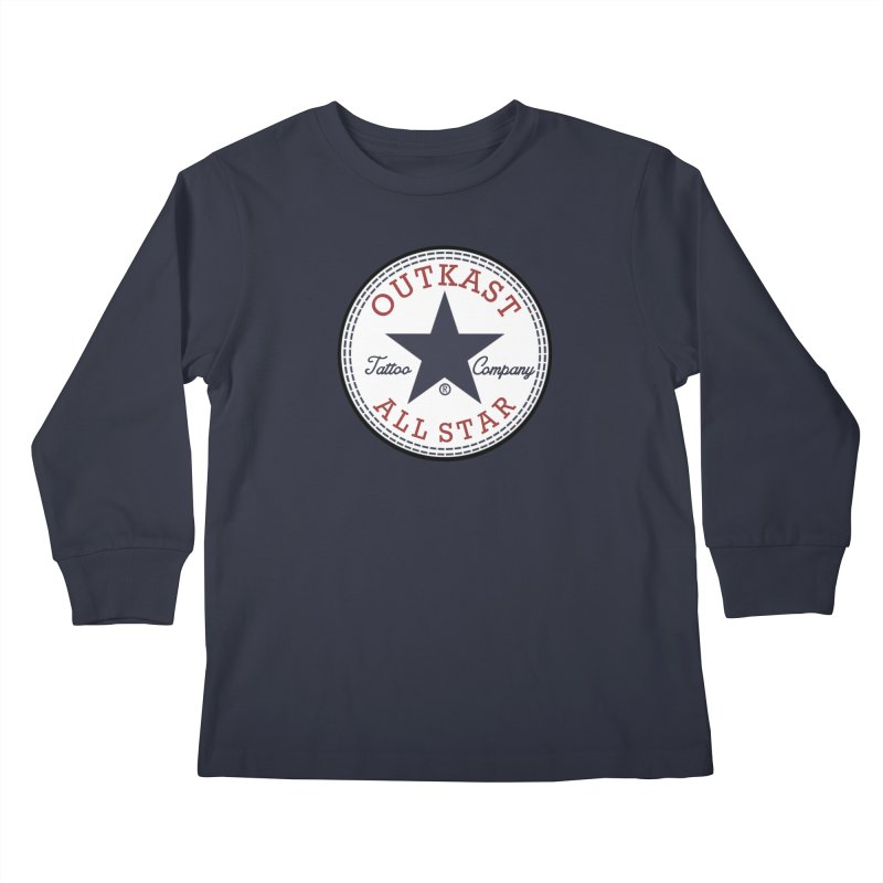 Outkast Tuck Chaylor All Star Kids Longsleeve T-Shirt by OutkastTattooCompany's Artist Shop
