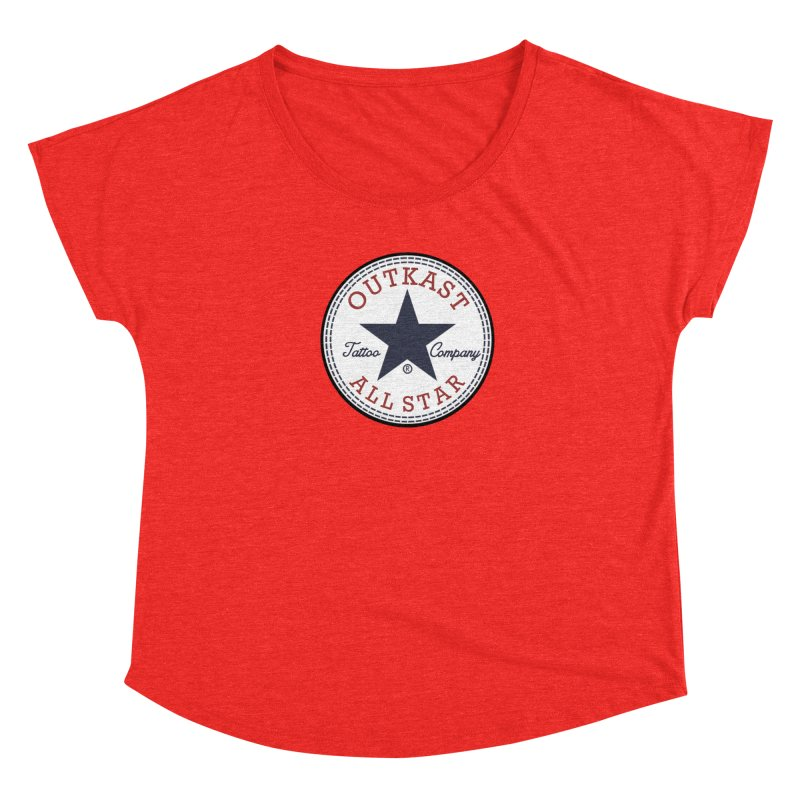 Outkast Tuck Chaylor All Star Women's Scoop Neck by OutkastTattooCompany's Artist Shop