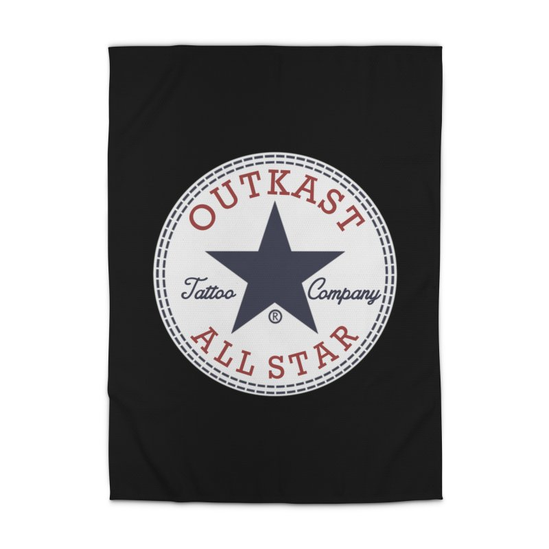 Outkast Tuck Chaylor All Star Home Rug by OutkastTattooCompany's Artist Shop