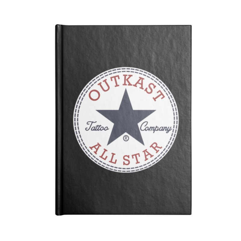 Outkast Tuck Chaylor All Star Accessories Notebook by OutkastTattooCompany's Artist Shop