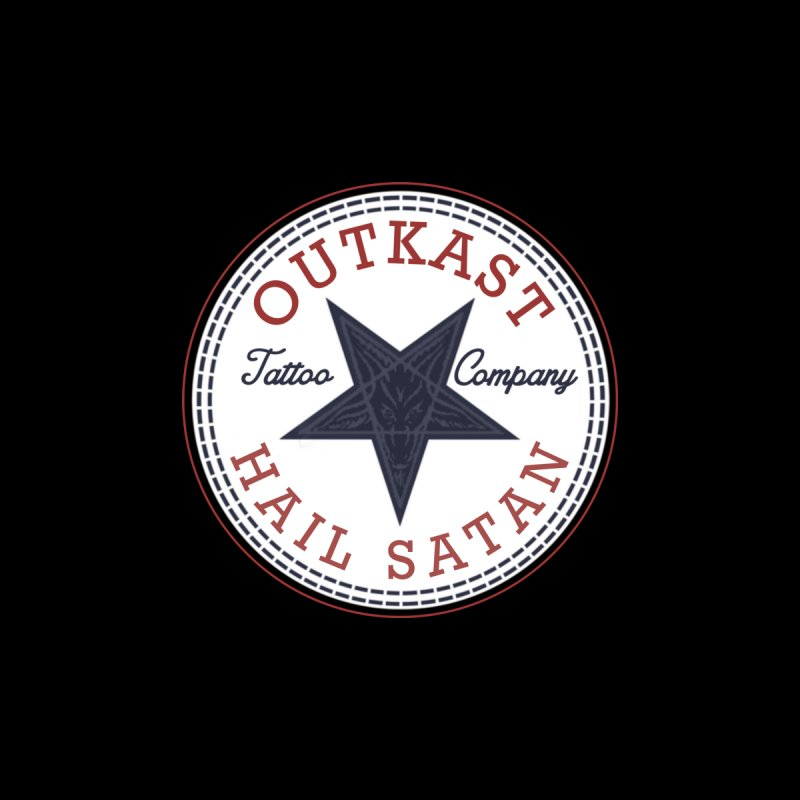 OUTKAST HAIL SATAN ALL STAR Women's Longsleeve T-Shirt by OutkastTattooCompany's Artist Shop