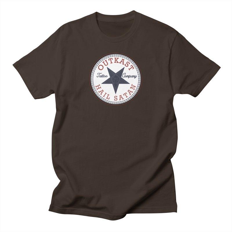 OUTKAST HAIL SATAN ALL STAR Men's T-Shirt by OutkastTattooCompany's Artist Shop