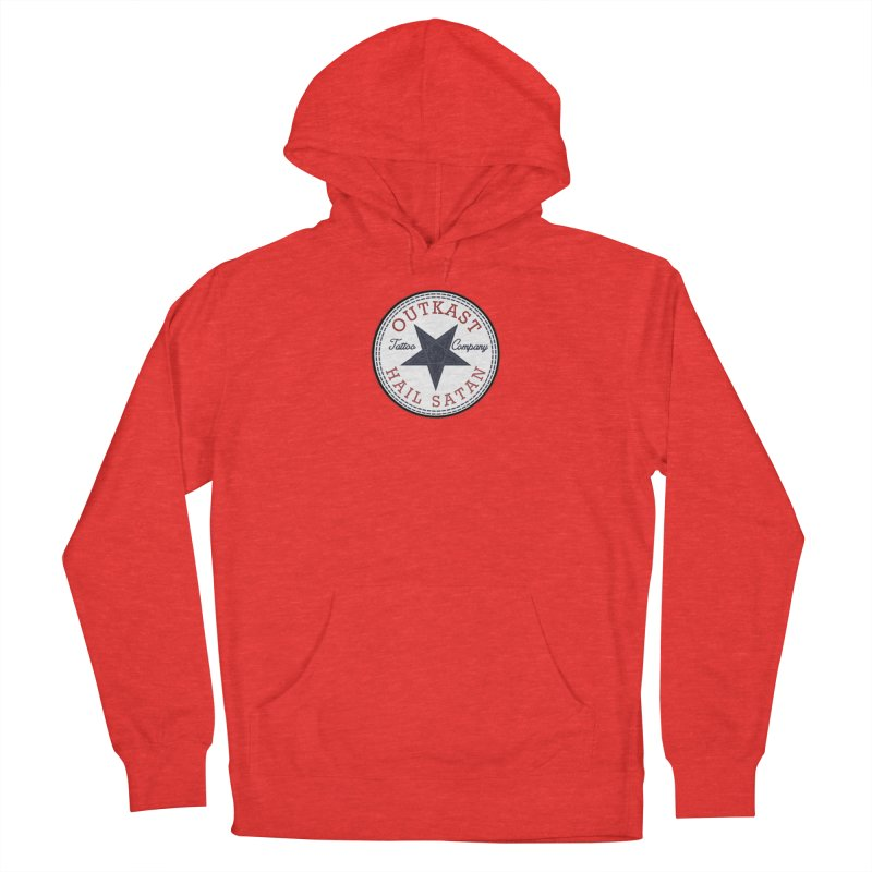 OUTKAST HAIL SATAN ALL STAR Women's Pullover Hoody by OutkastTattooCompany's Artist Shop