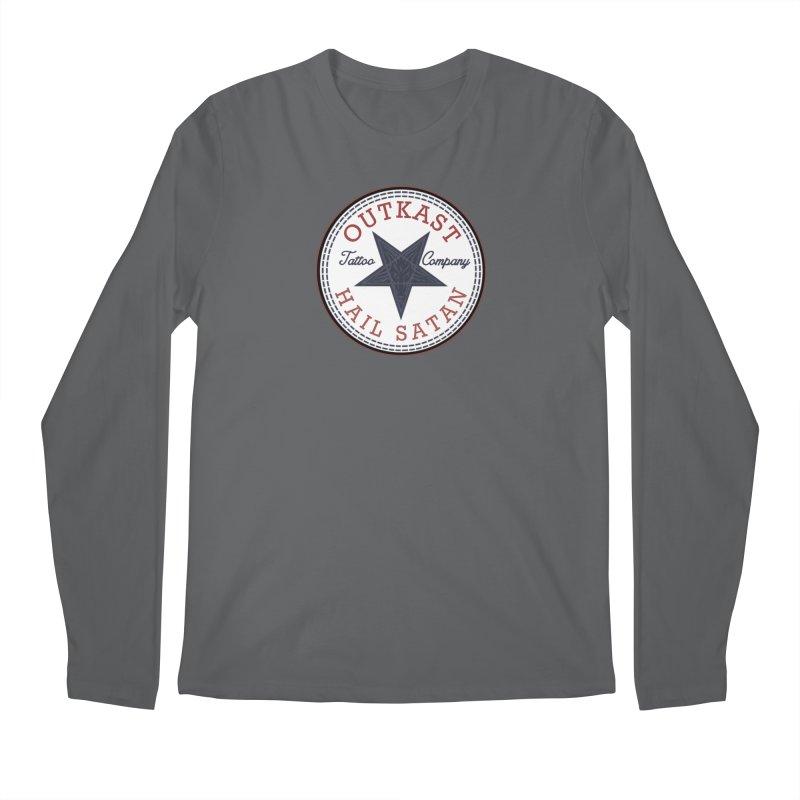 OUTKAST HAIL SATAN ALL STAR Men's Longsleeve T-Shirt by OutkastTattooCompany's Artist Shop